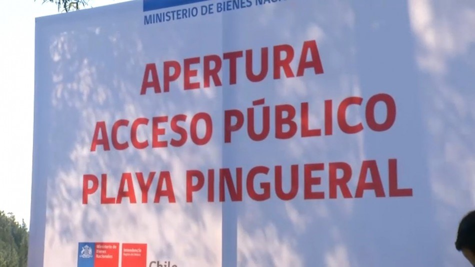 Habilitan entrada a Pingueral: La cuarta playa con más denuncias por falta de acceso