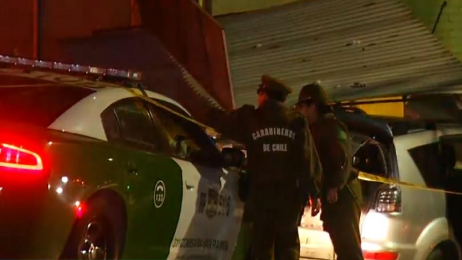 Detenidos tras persecución policial utilizaban prendas originales de Carabineros