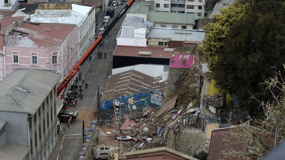 Tragedia en Valparaíso.