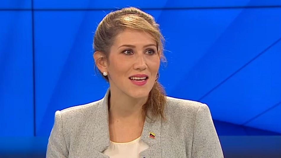 Representante de Guaidó en Chile: