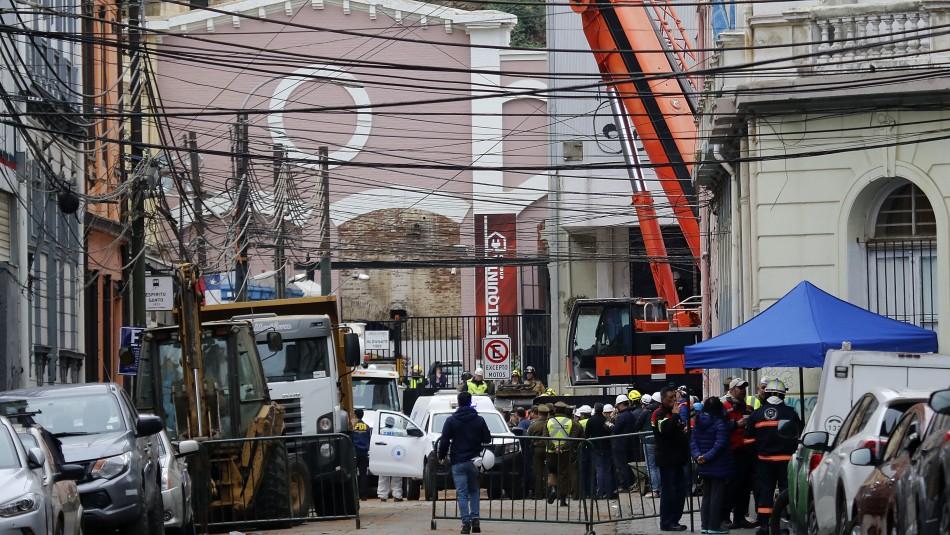 Valparaíso vuelve a la normalidad luego de trágico derrumbe