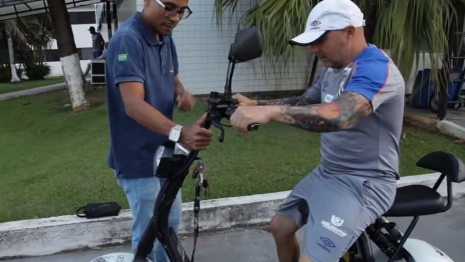 Santos sorprende a Jorge Sampaoli con especial regalo en Brasil