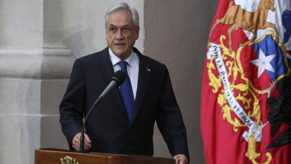 Presidente por acusación a Bernardino Piñera: