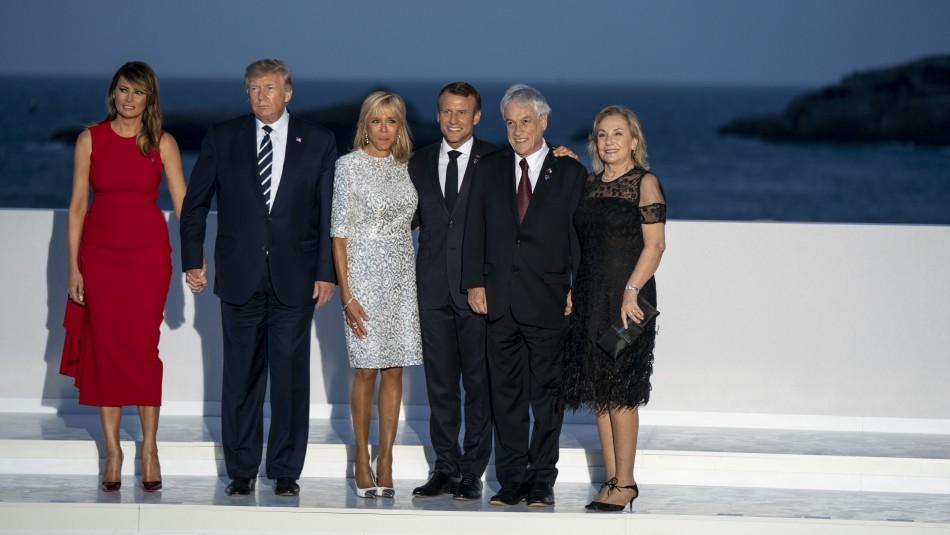 Piñera y temas tratados en Cumbre G7: