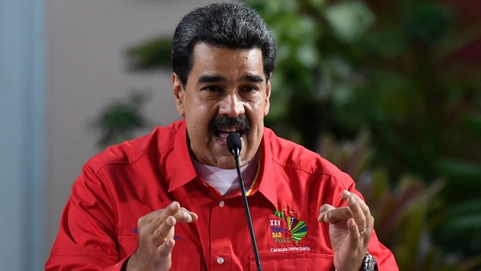 Maduro vuelve a atacar a Bachelet:
