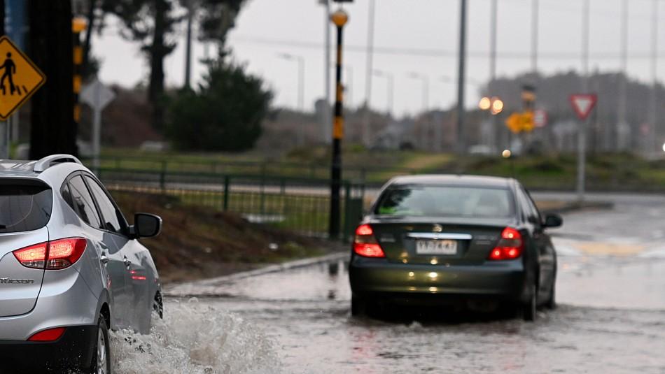 Sigue la lluvia en Concepción: Revisa el pronóstico del tiempo