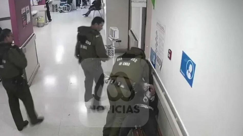 Carabinero queda en prisión preventiva por agredir y asfixiar a detenido en Renca