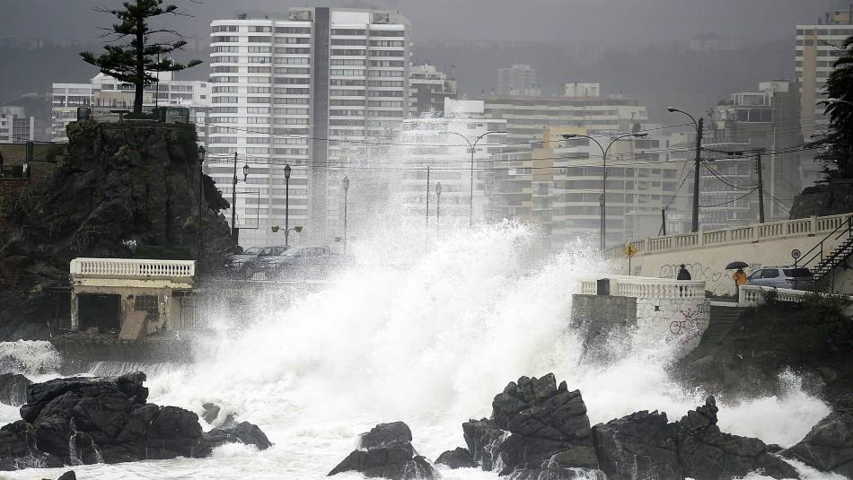 Anuncian marejadas para Fiestas Patrias: Las olas llegarían hasta los 4 metros