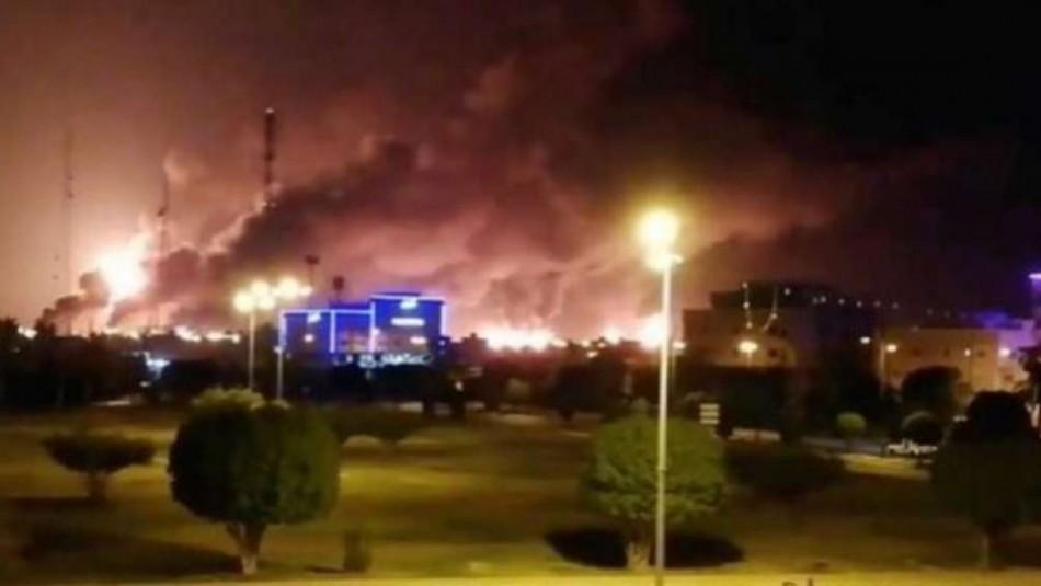 El petróleo se dispara más de 10% tras los ataques a plantas sauditas