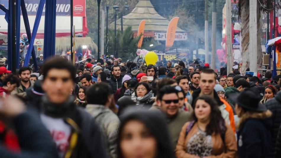60 mil personas llegaron a celebrar las Fiestas Patrias al Parque O'Higgins