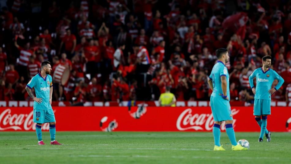 Barcelona perdió con el Granada.
