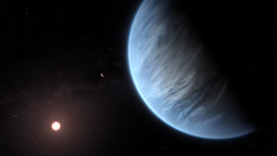 Encuentran exoplaneta que contiene agua y podría ser habitable