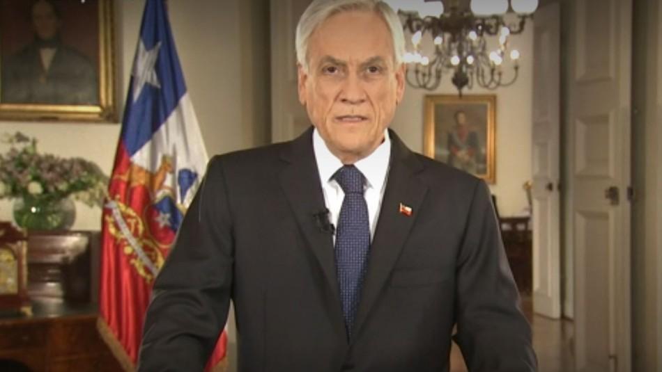 Piñera anuncia aumento del gasto público en un 3%: Equivale a USD $2.133 millones