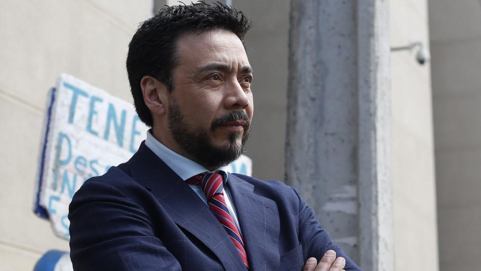 Fiscal Emiliano Arias tras ser formalizado: