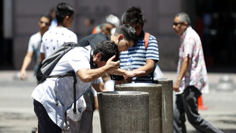 Se esperan temperaturas de hasta 30 grados para la próxima semana en Santiago