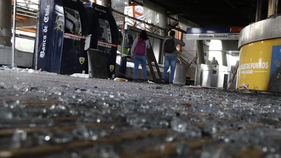 77 estaciones de Metro presentan daños que superan los 200 millones de dólares