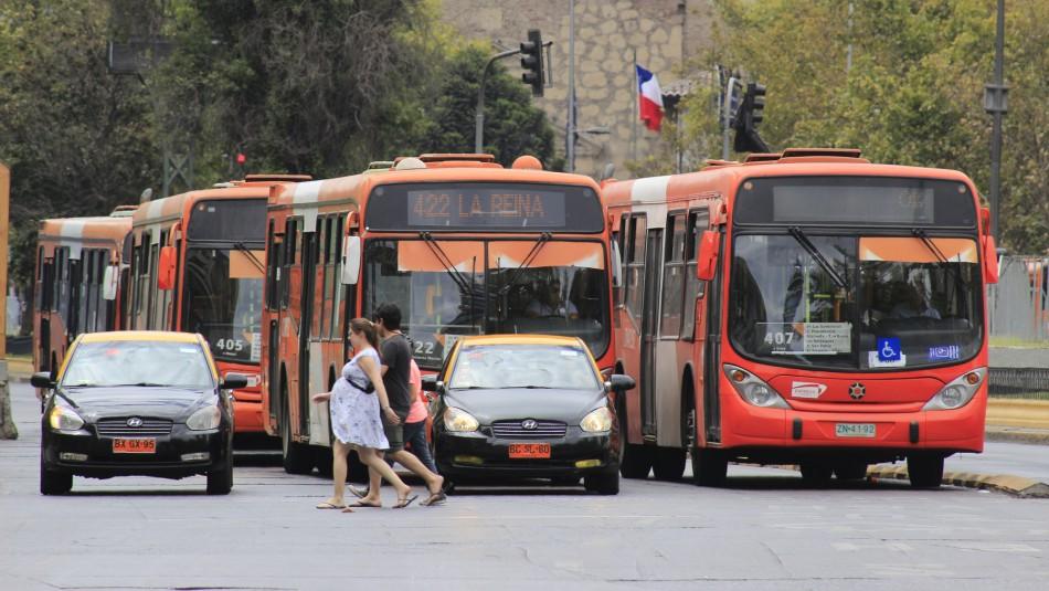 Conoce el plan de contingencia del Transporte Público para este lunes en Santiago