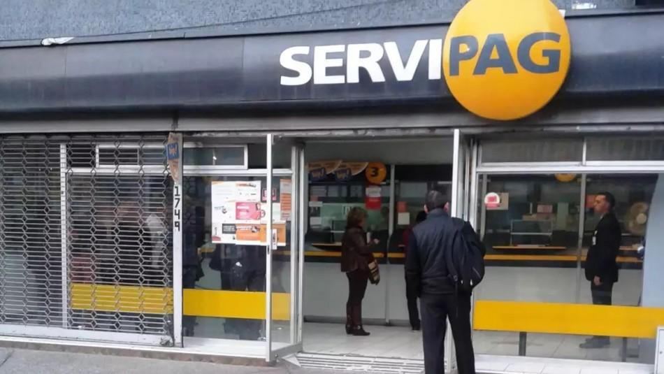 Revisa los puntos de atención que tendrá abiertos Servipag en todo el país