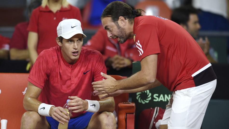 Chile ya tiene nómina para Copa Davis.