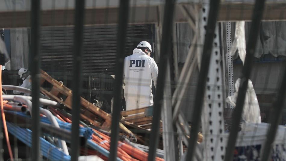 Confirman identidad de uno de los fallecidos en incendio de Construmart en La Pintana