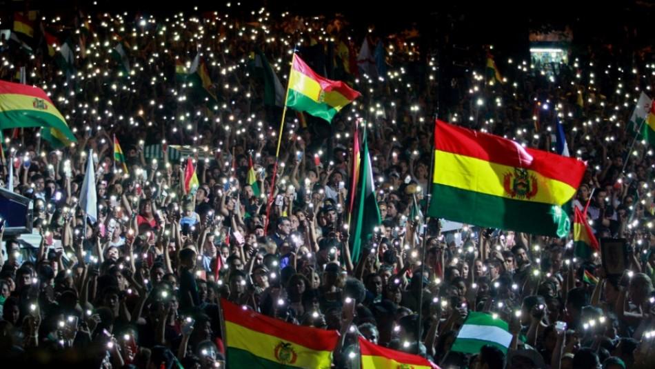 Grupos cívicos dan ultimátum a Evo Morales para que renuncie en 48 horas