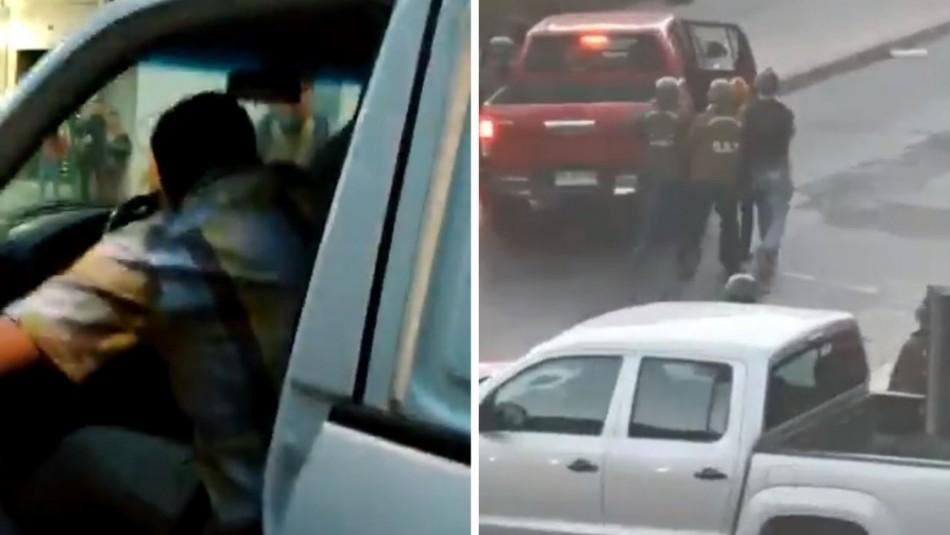Carabineros y denuncias de detenciones en vehículos civiles: