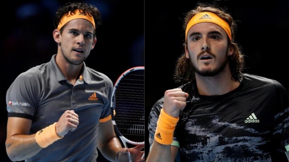 Pupilo de Nicolás Massú y Stefano Tsitsipas jugarán la final del Masters de Londres