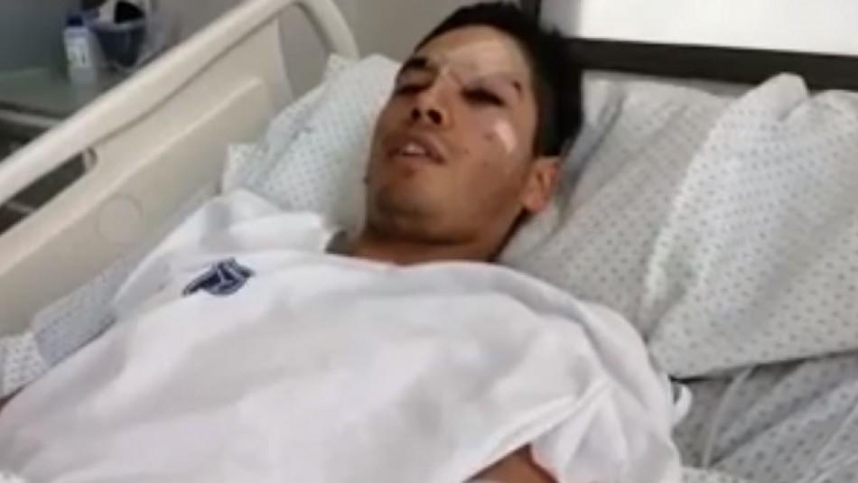 Carabinero herido en ataque en Recoleta:
