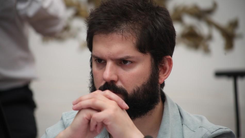 Suspenden a Gabriel Boric de Convergencia Social por participación en acuerdo constitucional