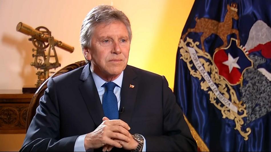 Ministro Alberto Espina: