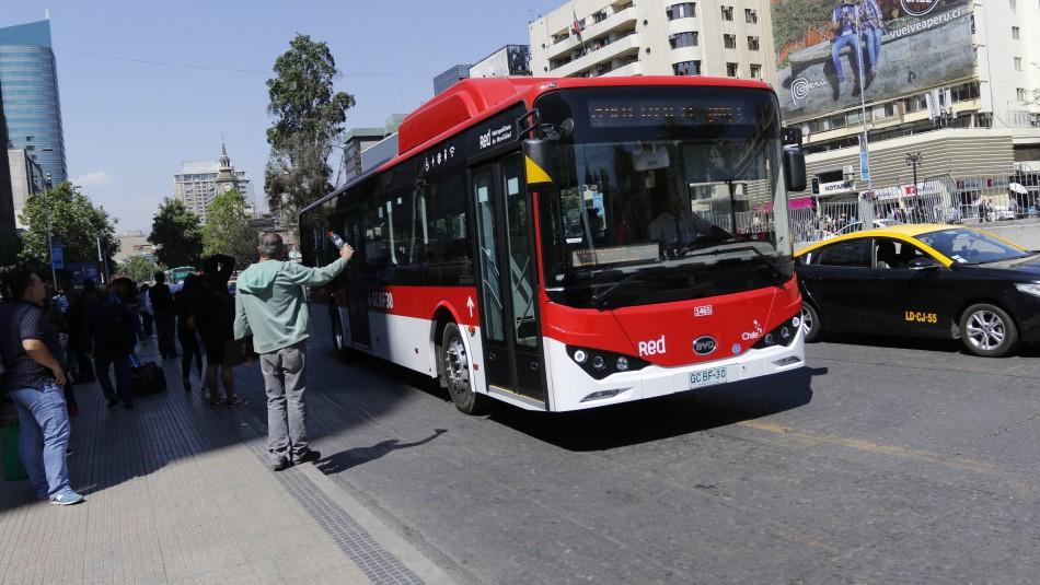 Revisa cómo funcionará el transporte público este lunes 2 de diciembre en Santiago