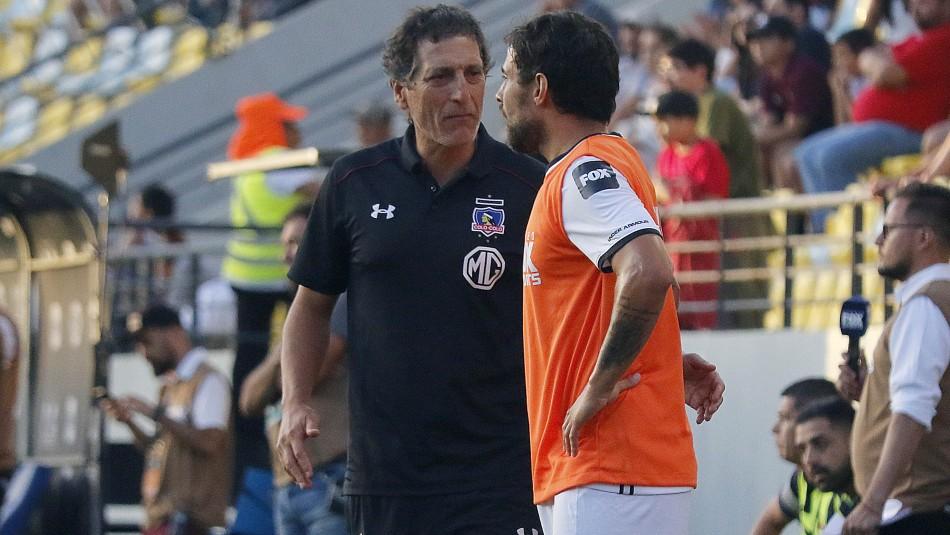 Jorge Valdivia quiere seguir en Colo Colo.