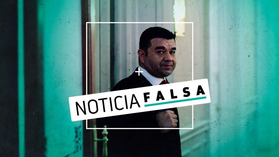 Es falso que carabinero acusado de matar a Camilo Catrillanca salió