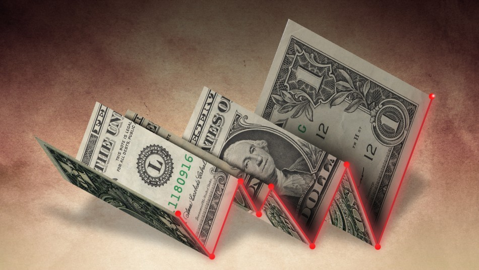 Sol peruano anota una pequeña baja con respecto al dólar