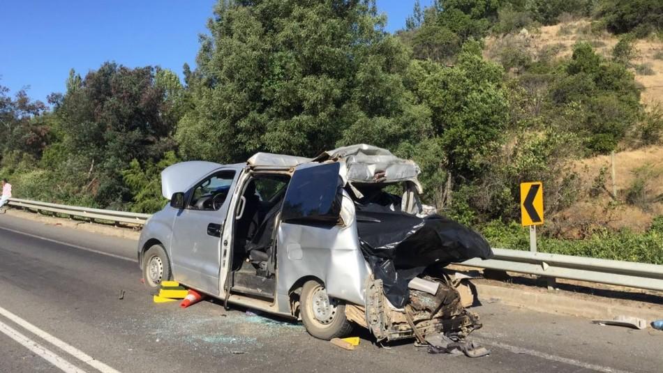 Cuatro de los cinco fallecidos en accidente de San Javier eran de nacionalidad haitiana