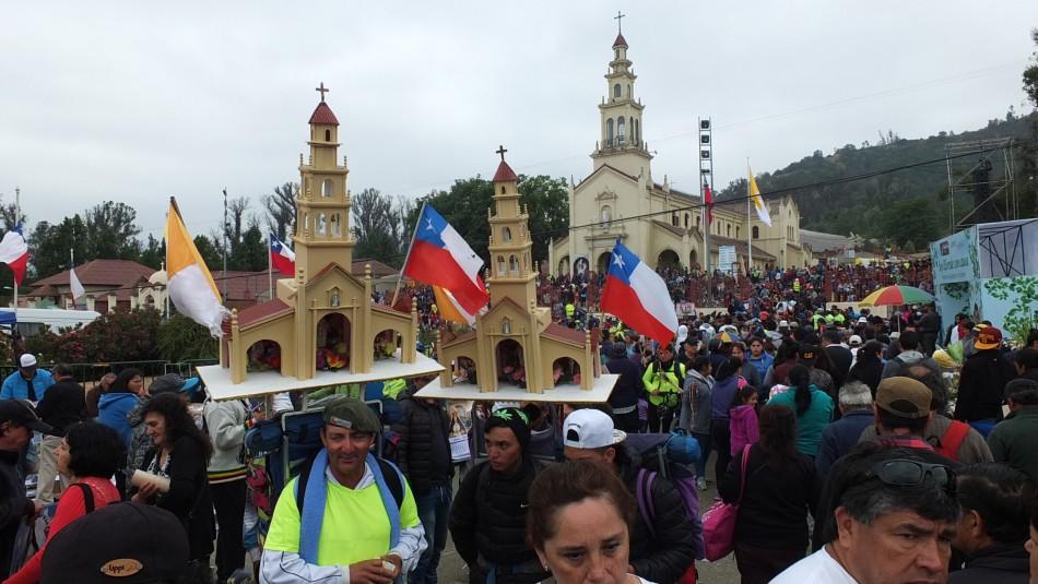 Confirman cierre de Ruta 68 para festividad religiosa de Lo Vásquez