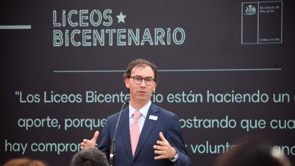 Mineduc dio a conocer listado de 100 nuevos Liceos Bicentenarios 2020