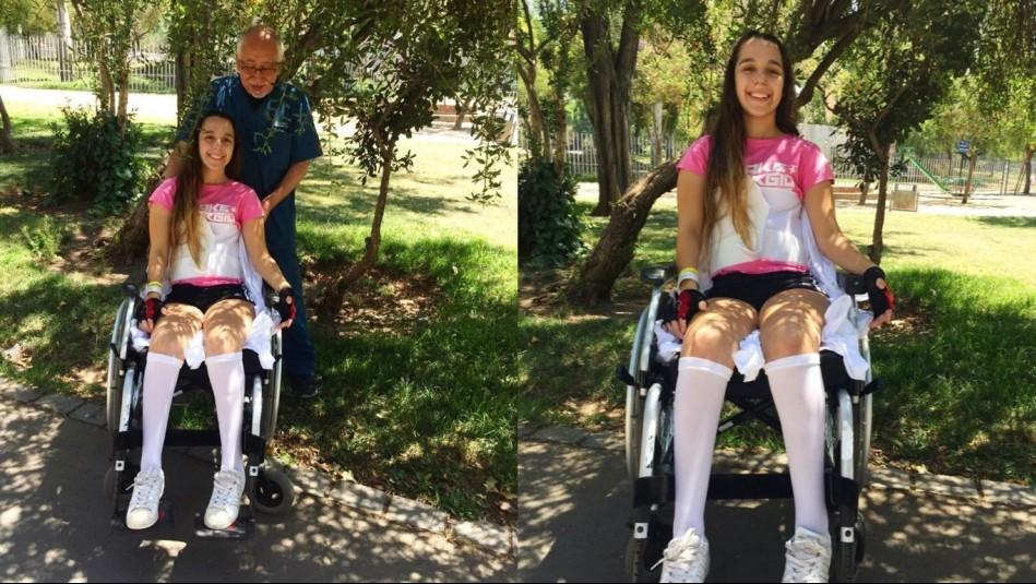 Martina Timis exhibe su recuperación tras grave accidente.