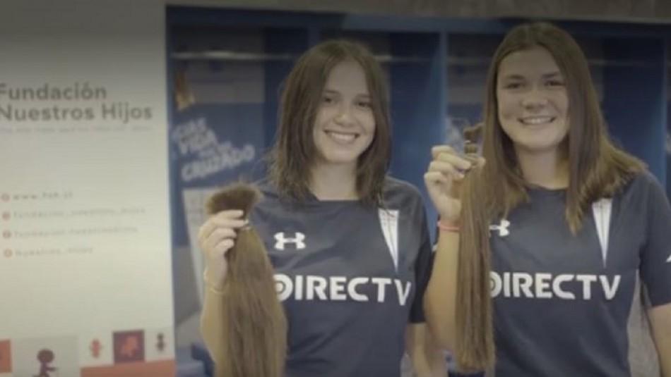 Aileen Genskowsky y Gabriela Aguayo.