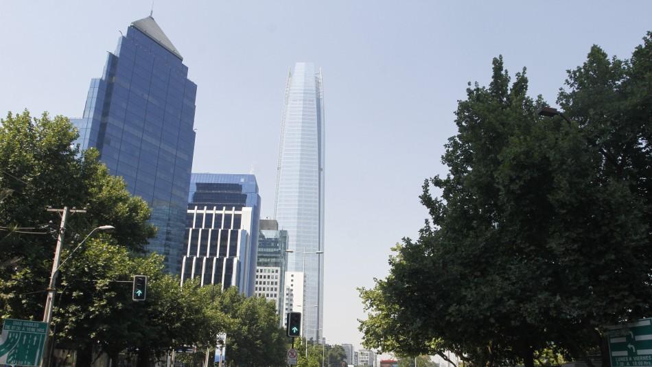 Santiago despejado y caluroso: Revisa el pronóstico del tiempo