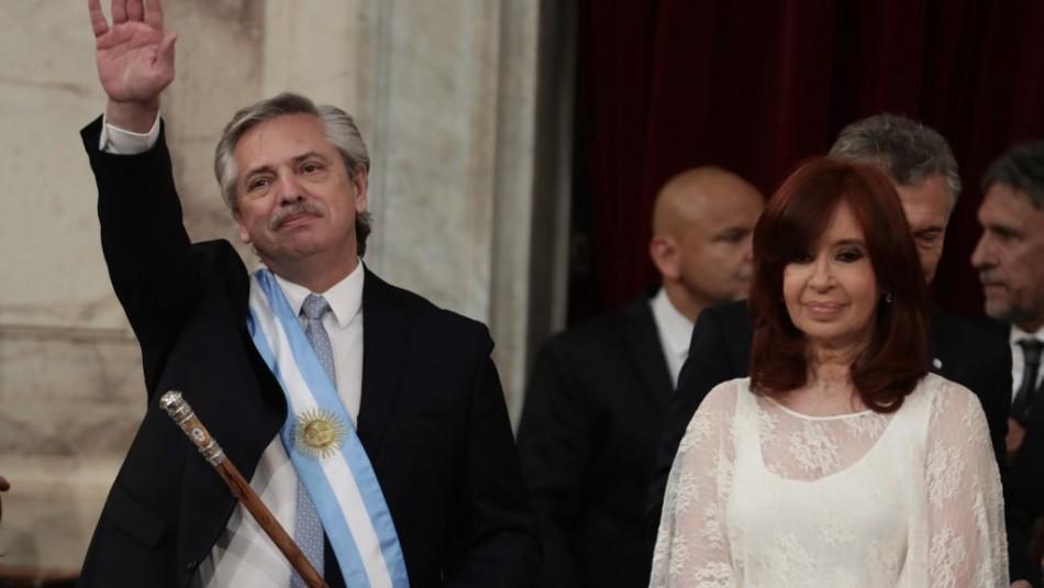 Alberto Fernández jura como presidente de Argentina: