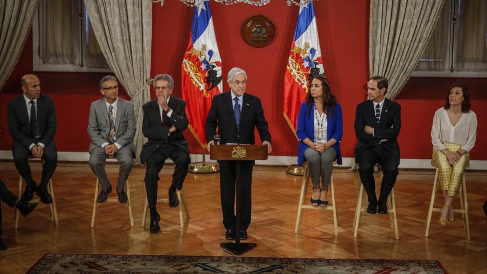 Piñera conmemora el Día de los DD.HH. con mensaje para Gustavo Gatica y Fabiola Campillay