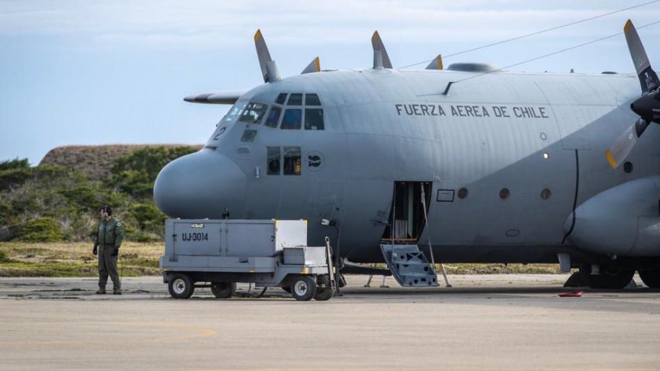 Con buque brasileño inician búsqueda submarina de avión siniestrado de la FACh