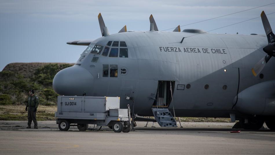 FACh realizará peritajes para determinar si esponja encontrada corresponden al avión siniestrado