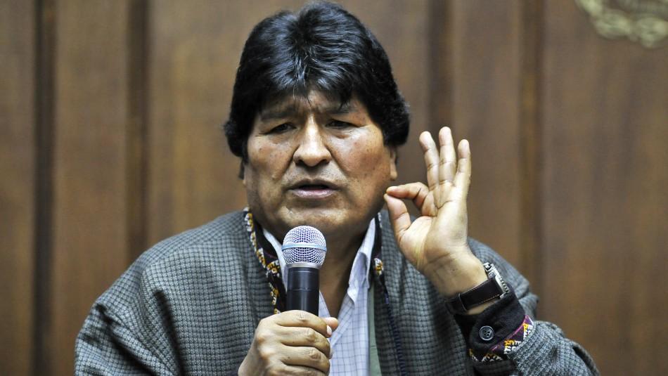 Evo Morales tras llegar como refugiado a Argentina: