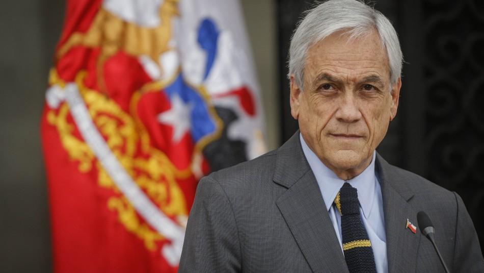 Piñera y crisis social: