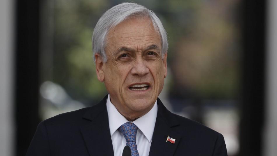 Presidente Piñera remarca que
