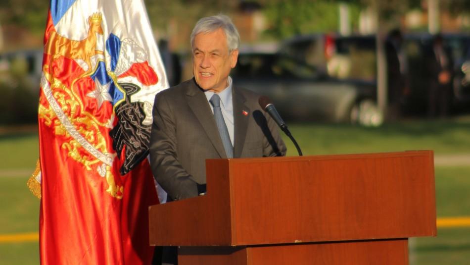 Piñera por avión FACh:
