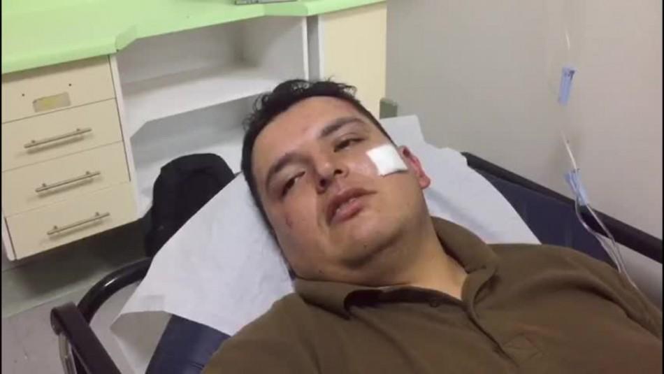 Prisión preventiva para uno de los atacantes de carabinero en el centro de Santiago