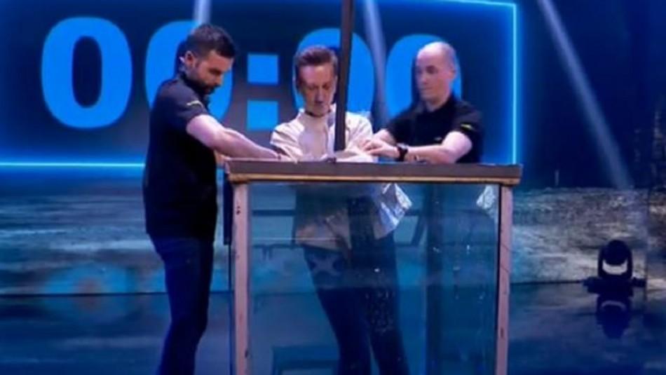 Dramático momento vivió un concursante en programa de talentos de España